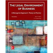 Legal Environment of Business, A Managerial Approach: Theory to Practice by Melvin, Sean; Guerra-Pujol, Enrique, 9781259686207