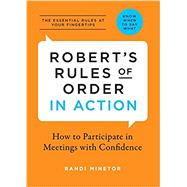 Robert's Rules of Order in Action by Minetor, Randi, 9781623156213