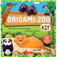 Origami Zoo Kit by Stern, Joel, 9780804846219