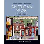 American Music A Panorama, Concise (with Digital Music Download Card Music CD Printed Access Card) by Candelaria, Lorenzo, 9781285446219