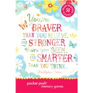 Pocket Posh Memory Games 50 Puzzles to Train Your Brain to Remember Anything by The Puzzle Society, 9781449446222