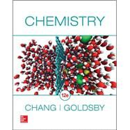 Student Solutions Manual for Chemistry by Chang, Raymond; Goldsby, Kenneth, 9781259286223