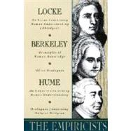 Empiricists : Locke: Concerning Human Understanding; Berkeley: Principles of Human Knowledge and 3 Dialogues; Hume: Concerning Human Understanding and Concerning Natural Religion by LOCKE, JOHNBERKELEY, GEORGE, 9780385096225