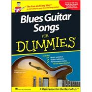 Blues Guitar Songs for Dummies by Herriges, Greg P., 9781423426233
