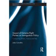 Impact of Extreme Right Parties on Immigration Policy: Comparing Britain, France and Italy by Carvalho; Joao, 9781138676237