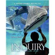Lab Manual for Inquiry into Life by Mader, Sylvia, 9780077516246