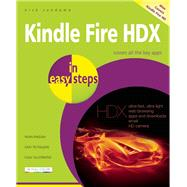Kindle Fire HDX in Easy Steps by Vandome, Nick, 9781840786248