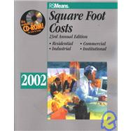 Square Foot Costs 2002 by Balboni, Barbara, 9780876296257