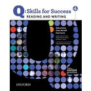 Q: Skills for Success 4 Reading & Writing Student Book with Student Access Code Card by Norloff, Charl; Daise, Debra; Carne, Paul, 9780194756259