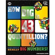 How Big is 43 Quintillion? by Huggins-Cooper, Lynn, 9781609926281