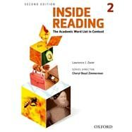 Inside Reading 2e Student Book Level 2 by Zwier, Lawrence, 9780194416283