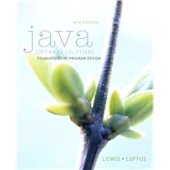 Java Software Solutions plus MyProgrammingLab with Pearson eText -- Access Card Package by Lewis, John; Loftus, William, 9780133796285