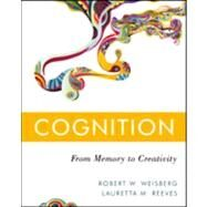Cognition by Weisberg, Robert W.; Reeves, Lauretta M., 9780470226285