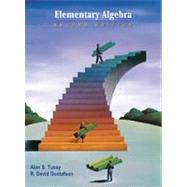 Elementary Algebra (Casebound with CD-ROM) by Tussy, Alan S.; Gustafson, R. David, 9780534386290