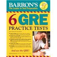Barron's 6 Gre Practice Tests by Freeling, David; Kotchian, Vince, 9781438006291