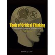 Tools of Critical Thinking by Levy, David A., 9781577666295