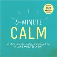 5-minute Calm by Adams Media, 9781507206300