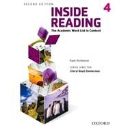 Inside Reading 2e Student Book Level 4 by Richmond, Kent, 9780194416306