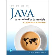 Core Java Volume I--Fundamentals, 1 by Horstmann, Cay S., 9780135166307