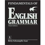 Fundamentals of English Grammar (Black) (Without Answer Key), Intermediate by Azar, Betty Schrampfer, 9780130136312