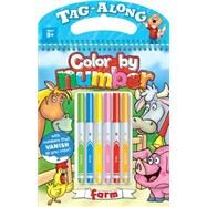 Tag Along Color by Number - Farm by Mersereau, Bill, 9781770666313