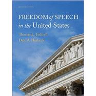 Freedom of Speech in the United States by Tedford, 9781891136313