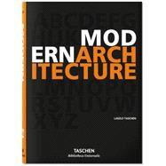 Modern Architecture A-z by Taschen, 9783836556316