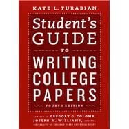 Student's Guide to Writing College Papers by Turabian, Kate L., 9780226816319