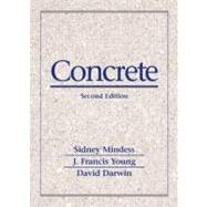 Concrete by Mindess, Sidney; Young, J. Francis; Darwin, David, 9780130646323