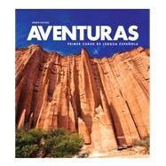 Aventuras, 4th edition (Textbook & Supersite Code (w/ WebSAM)) by VHL, 9781618576323