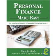 Personal Finance Made Easy by Lluch, Alex A., 9781934386323
