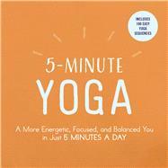 5-minute Yoga by Adams Media, 9781507206324