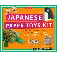 Japanese Paper Toys Kit by Dewar, Andrew; Vints, Kostya, 9780804846325