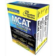 Princeton Review MCAT Subject Review Complete Box Set by Princeton Review, 9780804126328