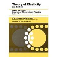 Theory of Elasticity by Landau; Pitaevskii; Lifshitz; Kosevich, 9780750626330