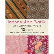Indonesian Batik Gift Wrapping Papers by Periplus Editors, 9780804846332
