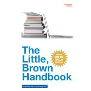 The Little Brown Handbook, MLA Update Edition by Fowler, H. Ramsey; Aaron, Jane E., 9780134586335