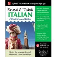 Read & Think Italian, Premium Second Edition by The Editors of Think Italian! Magazine, 9781259836336