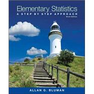 Elementary Statistics: A Step-by-Step Approach with Formula Card by Bluman, Allan, 9780078136337