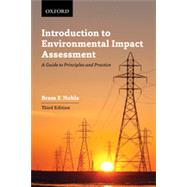 Introduction to Environmental Impact Assessment by Noble, Bram F., 9780199006342