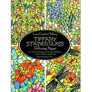 Tiffany Stained Glass Giftwrap Paper by Louis Comfort Tiffany. Designed by Gregory Mirow, 9780486266343
