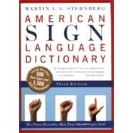 American Sign Language Dictionary by Sternberg, Martin L. A., 9780062736345