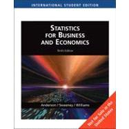 Pkg Aise Statistics Business Econ by ANDERSON/SWEENEY/WILLIAMS, 9780324566345