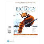 Campbell Biology Concepts & Connections, Books a la Carte Plus MasteringBiology with Pearson eText -- Access Card Package by Taylor, Martha R.; Simon, Eric J.; Dickey, Jean L.; Hogan, Kelly A.; Reece, Jane B., 9780134536347