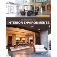 Materials for Interior Environments by Binggeli, Corky, 9781118306352