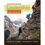 Leadership, 6th Edition by Lussier; Achua, 9781285866352