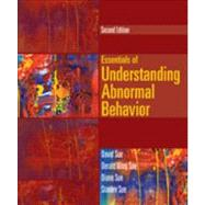 Essentials of Understanding Abnormal Behavior by Sue, David; Sue, Derald Wing; Sue, Diane M.; Sue, Stanley, 9781133956358