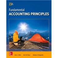 Fundamental Accounting Principles by Wild, John; Shaw, Ken; Chiappetta, Barbara, 9781259536359