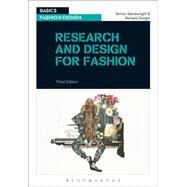 Research and Design for Fashion by Seivewright, Simon; Sorger, Richard, 9781474246361
