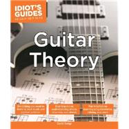 Idiot's Guides Guitar Theory by Hodge, David, 9781615646364